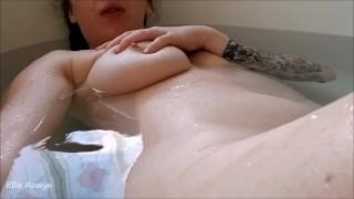 Bathtime Fingering
