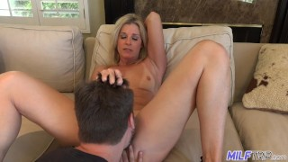 MILFTRIP Step Mom India Summer Welcomes Step Son Home
