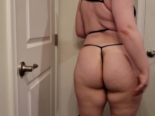 My Big Ass In Yoga Pants and Some New Lingerie