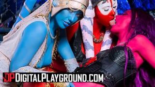 Digital Playground - Alien Orgy in starwars porn parody