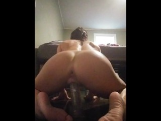 Me fucking and cuming on my dildo