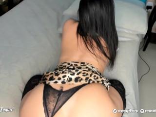 POV - Emanuelly Raquel Virtual Sex with You - Big boobs Big ass - ORAL