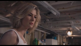 Rosamund Pike gives ruined orgasm handjob to wounded man