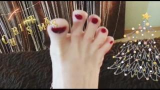 Feet MILF Marry Christmas