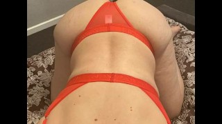 Step son caught step mom doing videocam for money
