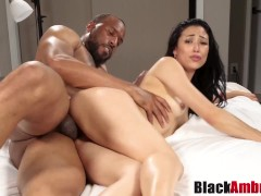Curvy Asian Mia tricked into hard BBC r...