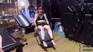 Restrained in the Medical Chair