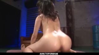 Kyouko Maki bends ass for a mega naughty JAV doggy - More at 69avs com
