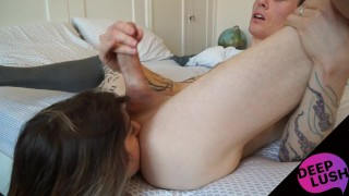 Owen Gray Rimming Edging Ass Licking Compilation DeepLush
