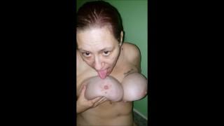 Grandma Swallows Cum