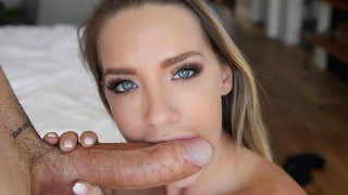 POV Sloppy Blowjob Compilation and Cum In Mouth