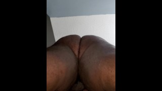 Ebony Bbw housewife gets fucked hard by bhm edge of bed pt1. Hot Fuck Asmr.