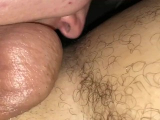 Sloppy ball sucking part 1