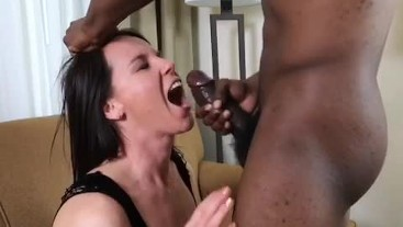 Riley Jacobs - BBC facial and eating cum