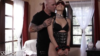 WickedPictures - Gina Valentina Fucked & Whipped In Leather