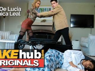 FKeTelenova Latina Babes fight over Jordi El Polla in threesome