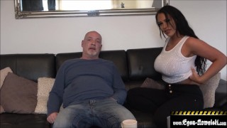 My wife comments when I fuck her friend