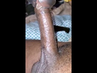 Edging to double cumshot