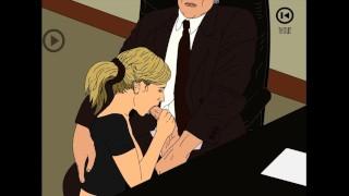 Indecent Proposal - Making My Secretary My Sex Slave
