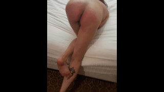 Whipped her ass red, hit the sweet spot