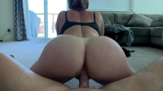 """52"""" PAWG Squirts On Carpet *Creampied In Her Pussy*"""