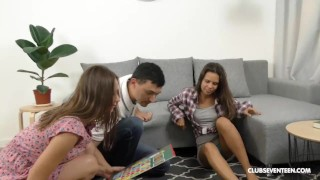 Bi Teens Playing the Fuck Game