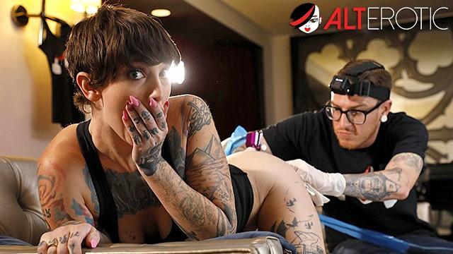 Thick Tattoo White Girl Fucked