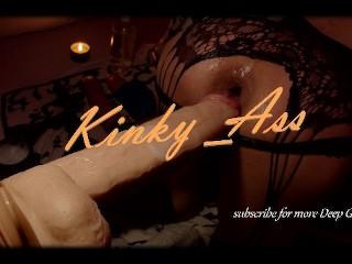 Juicy Dildo making my Ass cum & fart 4K #anal #artporn