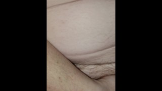 Beating that wet Hairy pussy up