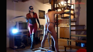 New Year's whipping pain - part one INTRO