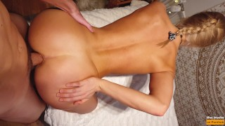 Fit Amateur Gets Her Perfect Ass Fucked & Gaped - Miss Impulse