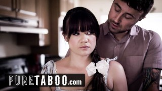 pure taboo step daughter is jealous of mom's new boyfriend – teen porn