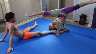 Mixed Wrestling Double Feature - cameron dee and lilith lenae