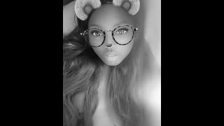 Hottest Sexy Ebony Teen Long Hair Foxy Kitten Is Ready to be Fucked