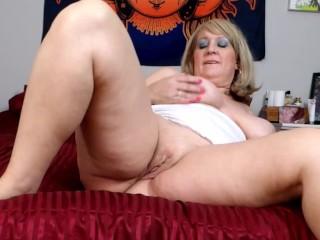 Nipple Clips, Sweet Pussy Rub, Sexy Milf Thong Panties, BBW