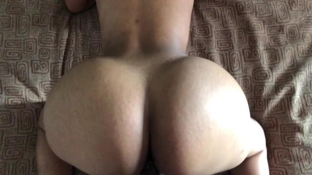 brunette mom blowjob son