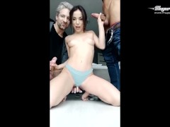 Exotic beauty anastasia brokelyn backstage moments with mugur and lutro | Recorded Cam Show