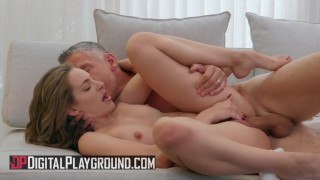 Digital Playground - Fit brunette Kimmy Granger shares cum with a friend