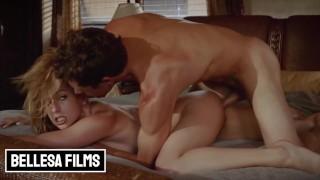Screen Capture of Video Titled: Bellesa - Hot couple Kristen Scott, Tyler Nixon fuck one last time