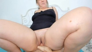 Fucked Pussy In Cowgirl Pose  POV  Ride Him Step Mom