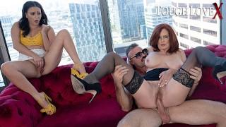 TOUGHLOVEX Karl casting busty redhead MILF Andi James