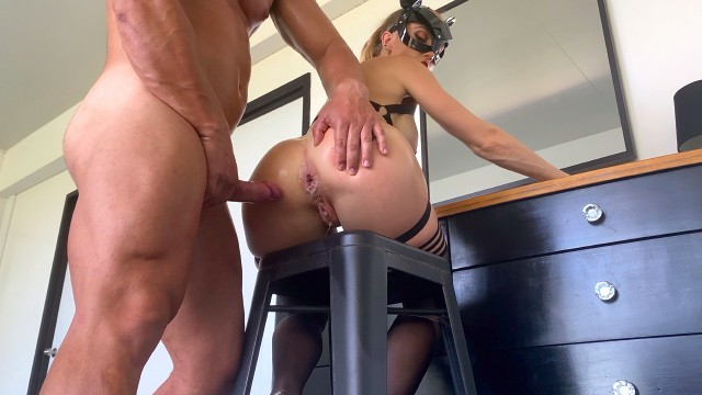 Hairy Ass Anal Creampie