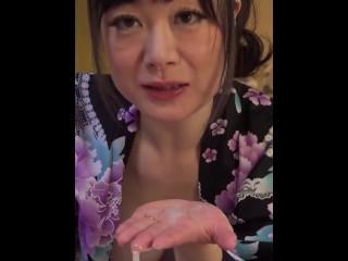 【無】縦型動画 039 ~結婚指輪が煌くスナップ手コキ~ パート2