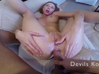 Anal fingeri. Cunilingus. CloseUp anal hole. Cum on face.