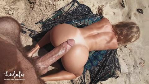 Beach porno sex