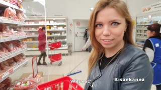 Came to the store, saw her, fucked her! Very much cum ! 4K Kisankanna!