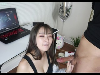 Stop Playing Video Game & Fuck Me Already Oppa - TokyoDiary