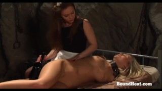 On Consignment 3: Lesbian Maid Unties Girl In Bondage And Makes Love