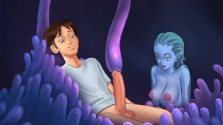 SUMMERTIME SAGA- SEA MONSTER'S BLOWJOB PART 151
