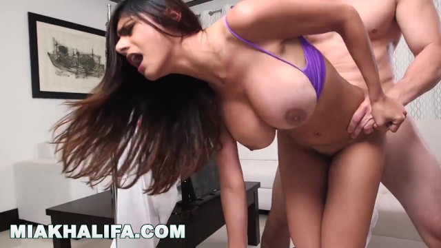 MIA KHALIFA - Fucked Doggy Style, With Focus On My Big Tits